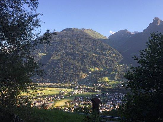 Gasthof Fischerstobli: Uitzicht op Schruns