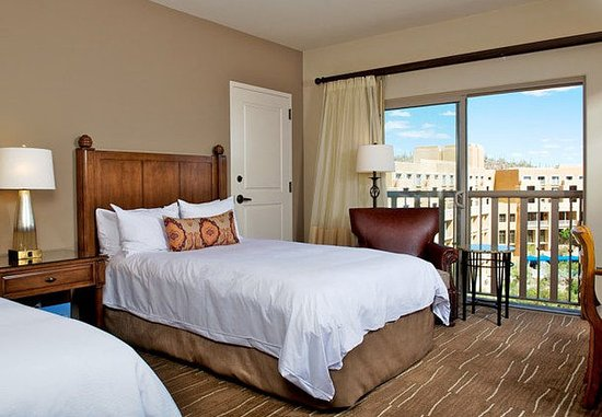 JW Marriott Tucson Starr Pass Resort & Spa: Double/Double View Guest Room