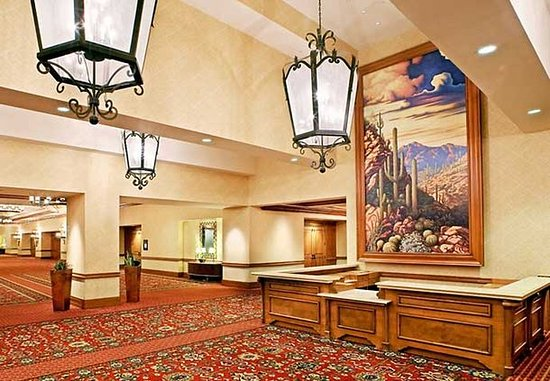 JW Marriott Tucson Starr Pass Resort & Spa: Registration Desk