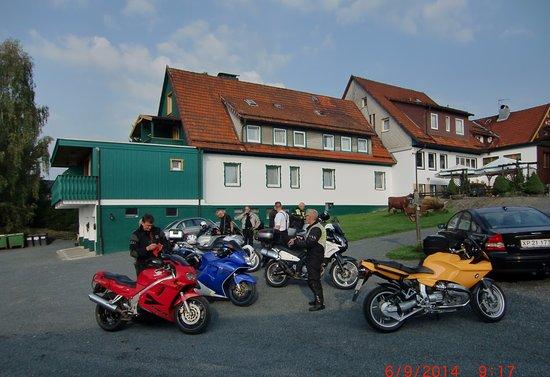 Zur Erholung Hotel: Fine omgivelser med god plads