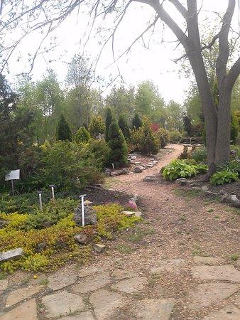 Nathanael Greene/Close Memorial Park: part of the walking path through the park
