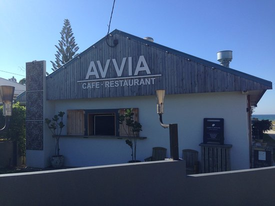 Avvia Cafe Restaurant View Of From The Gold Coast Highway