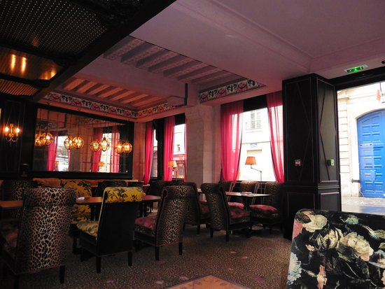 bar area photo de h tel de jobo paris tripadvisor. Black Bedroom Furniture Sets. Home Design Ideas