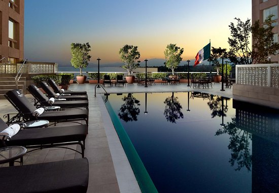 JW Marriott Hotel Mexico City : Outdoor Pool Deck