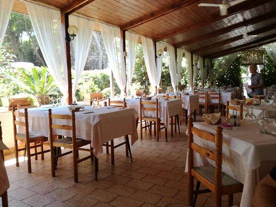 Residence Hotel Universo : Sala pranzo esterna