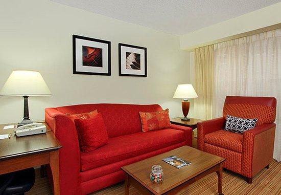 Residence Inn Anaheim Hills Yorba Linda: Studio Suite - Living Room