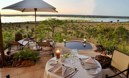 Ngoma Safari Lodge: Private dinner at your suite