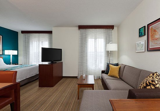 Residence Inn Chicago Naperville/Warrenville: Studio Suite