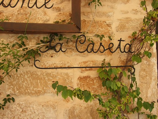 La Caseta Restaurant in beautiful historic Alcudia Picture of