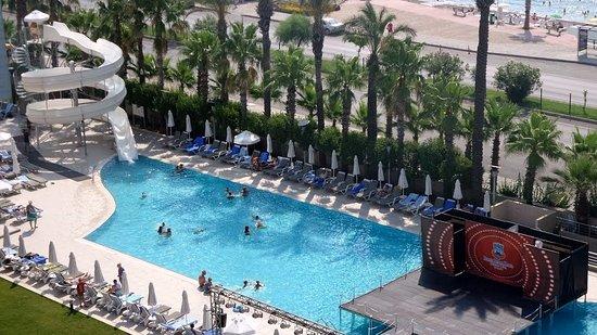 Simple Porto Bello Hotel Resort U Spa Piscine Sur Le Porto Bello Antalya Sur  Et Propre With Summer Waves Piscine