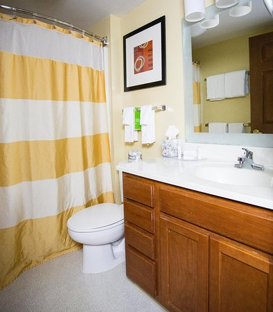 TownePlace Suites Cleveland Streetsboro: Guest Bathroom