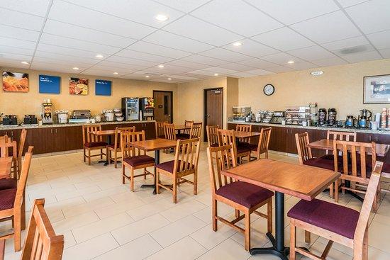 Hermiston, Oregón: Breakfast Area