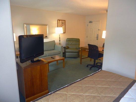 Colfax, Carolina del Norte: Deluxe Studio - 1 King Bed
