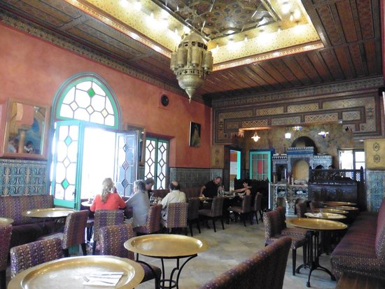 La Mosquee : The dining area
