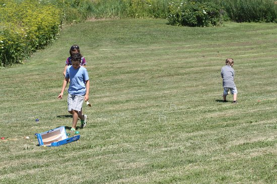 Pugwash, Kanada: croquet on the lawn