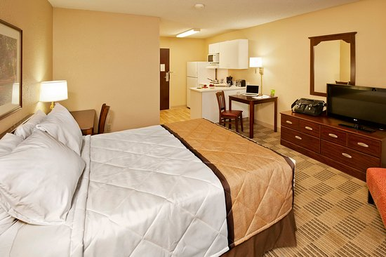 Extended Stay America - Indianapolis - North - Carmel: Studio Suite - 1 Queen Bed