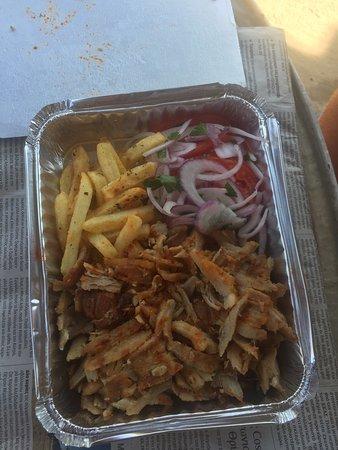 Glyfada, Grecia: Last meal in Greece-takeaway from the restaurant