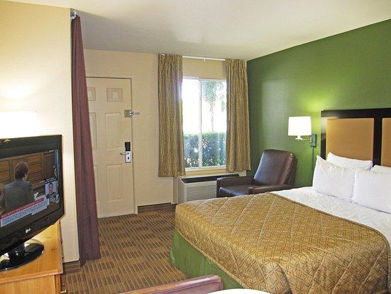 San Mateo, Californien: Studio Suite - 1 Queen Bed