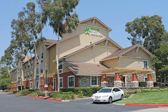 洛杉磯聖迪馬斯美國長住飯店張圖片