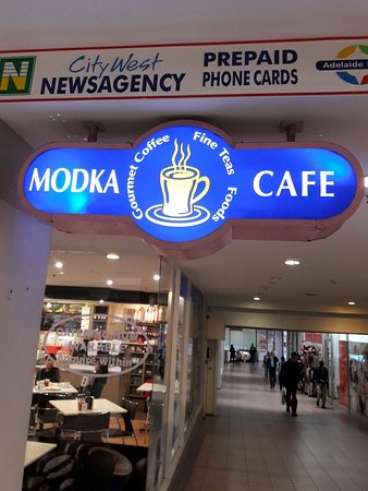 Basket Range, Australien: Fabulous food and quality service from Modka Cafe.
