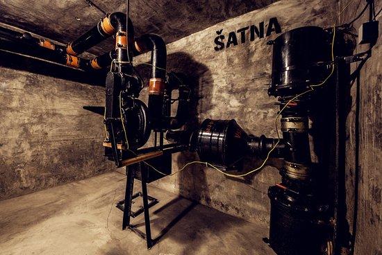 Moravian-Silesian Region, República Checa: Bunker interier / Interiér krytu