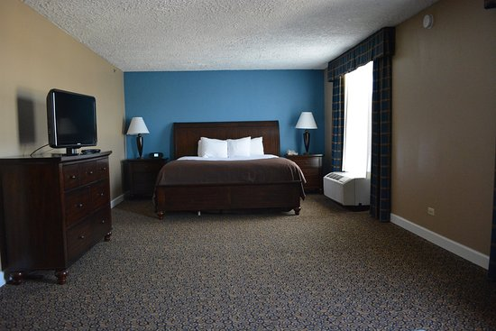 Countryside, IL: 1 King Bed Executive Suite
