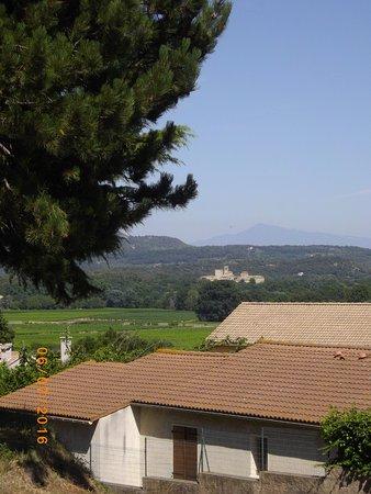 Gard, Frankrike: vue de Sains Pons la calme