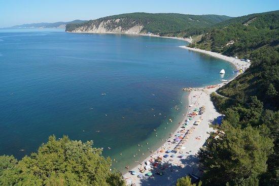 Отдых на Чёрном море в бухте Инал