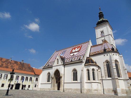 Lotrščak Tower: Kerk Zagreb Lotrscak Tower