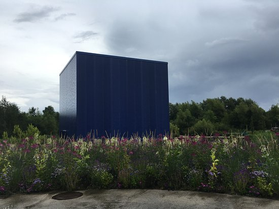 Universe: The Big Blue cube for the Iceland exhibit
