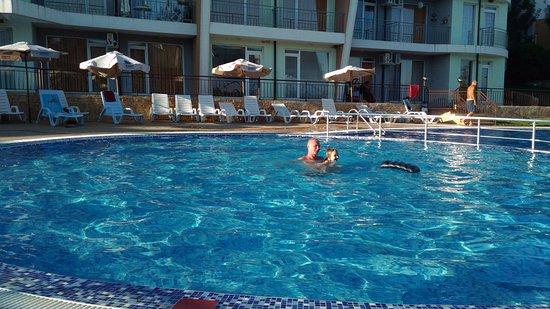 Kosharitsa, Bulgarije: бассейн, один из нескольких, это детский