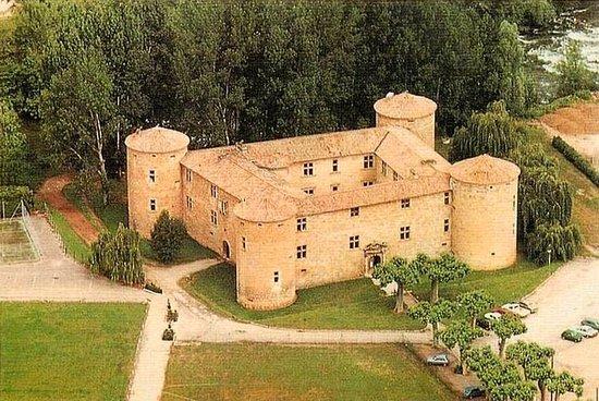 Couiza, Frankreich: Un chateau médiéval