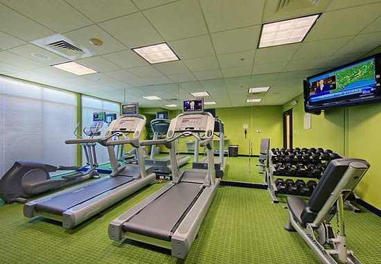 Fairfield Inn & Suites Anniston Oxford: Fitness Center