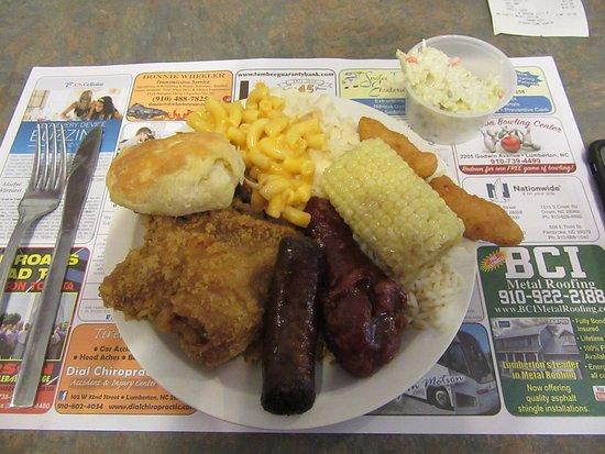 Lumberton, NC: A lovingly full plate
