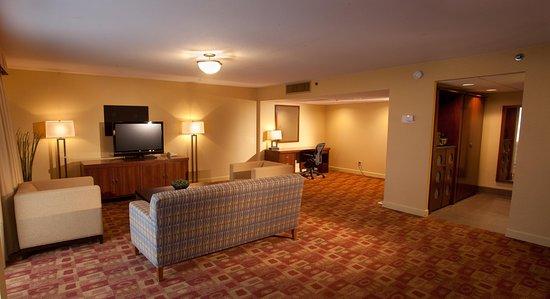 Irving, TX: Parlor Suite Living Area