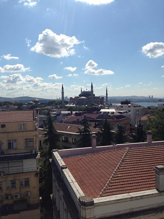 "Nowy Efendi Hotel ""Special Class"": View from the terrace during the day"