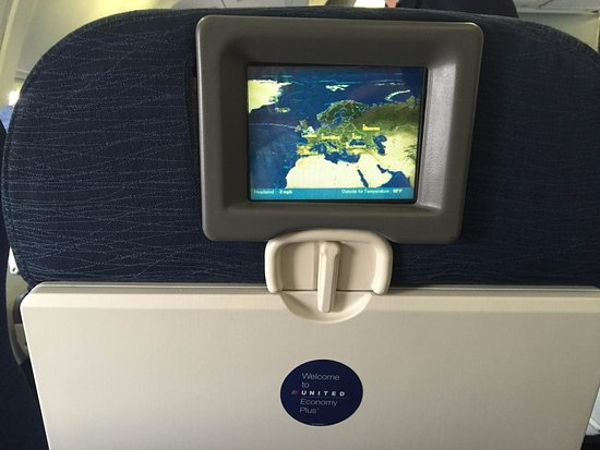 In flight entertainment?! - Picture of United Airlines - TripAdvisor