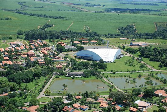 Sumare, SP: Vista aérea da Estância