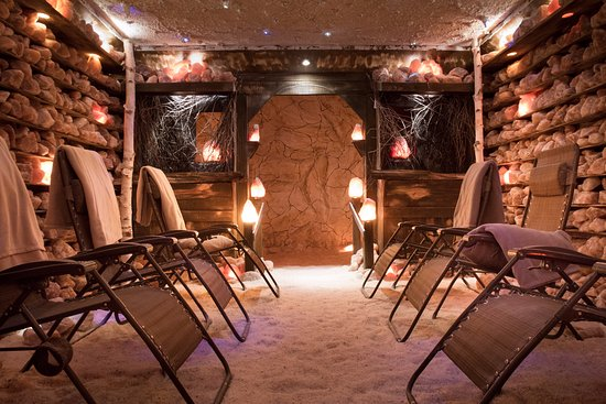 Brantford, Canadá: Healing Salt Cave at GWCbody a division of Grand Wellness Centre