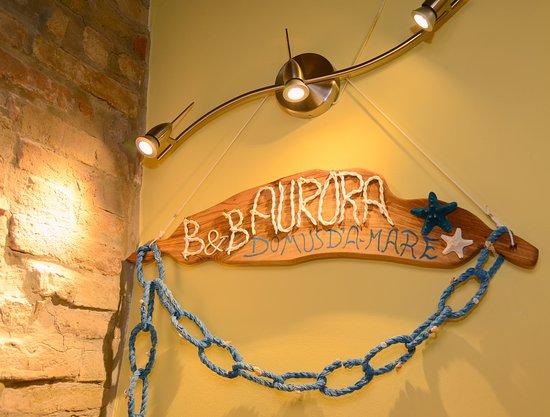 Aurora Domus d'Amare: ingresso interno