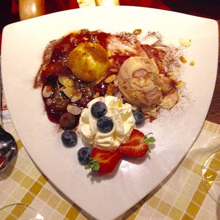Gasthaus zur Linde: lo squisito dessert