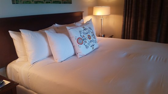 Depoe Bay, OR: Comfy looking bed
