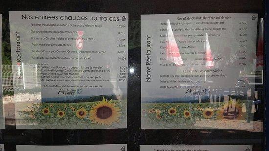 Fort-du-Plasne, Frankrike: Restaurant et hôtel