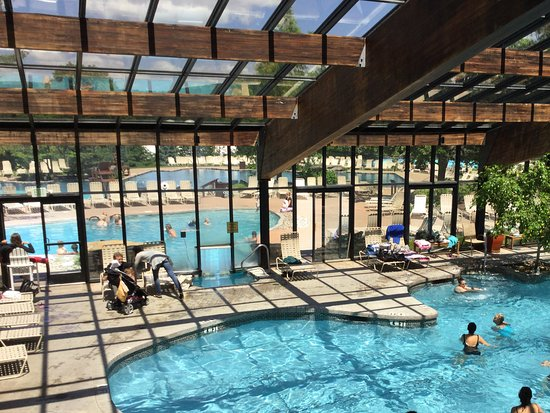 Indoor and out door pools - Picture of Minerals Hotel