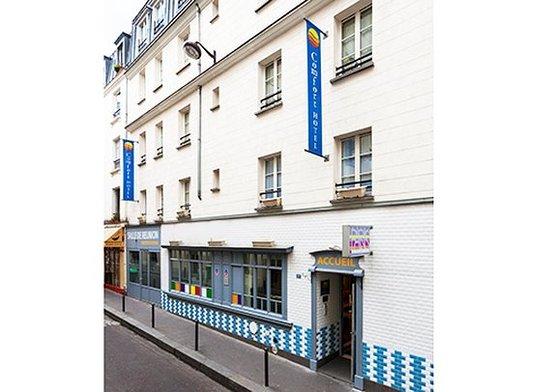 Comfort Hotel Paris La Fayette : Exterior