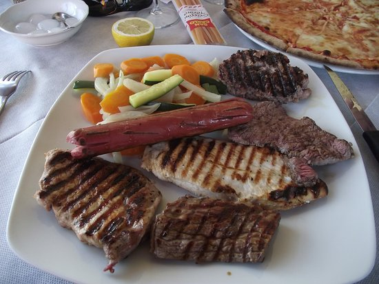 Monvalle, Italy: Mixed grill
