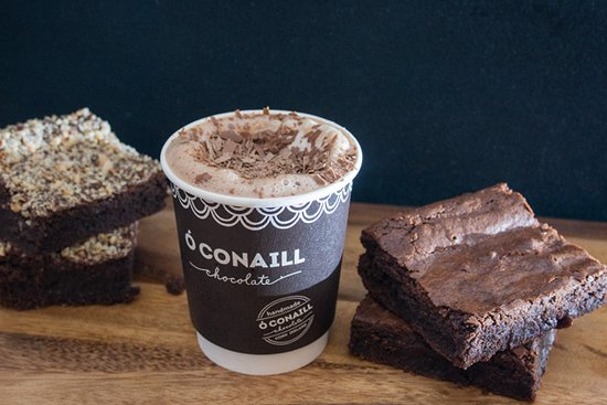 O Conaill Chocolate: Take Away Hot Chocolate & Brownies