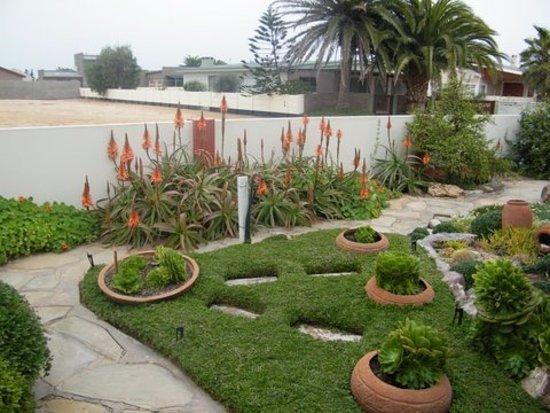 Hentiesbaai, Namibia: Schöner kleiner Garten