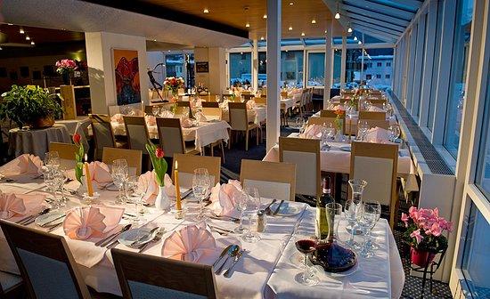 Hotel Cresta: Restaurant