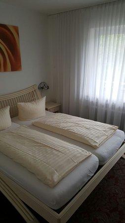 Apart Hotel Freiburg: Unser Doppelzimmer direkt nach Ankunft